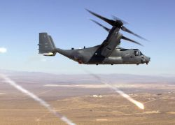 CV-22 Osprey - Playing with fire Photo