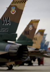 F-16 F - Tail view Photo