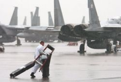 F-15 Eagle - Wet and weary Photo