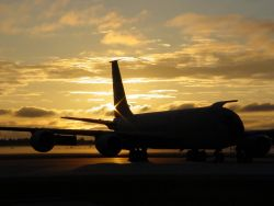 KC-135R - Good morning, sunshine Photo