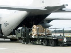 C-130 Hercules - Earthquake relief sent to Niigata Photo