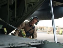 C-130 Hercules - Into Iraq Photo