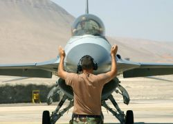 F-16 - Man against machine Photo