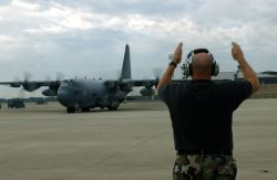 AC-130U - Bases, aircraft prepare for Hurricane Ivan Photo