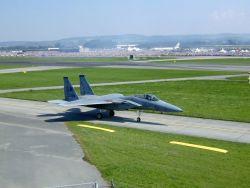 F-15 Eagle - American Eagle flies in Swiss sky Photo