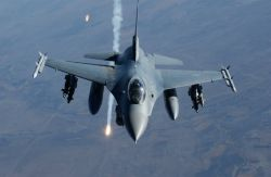 F-16 Fighting Falcon - Air power! Photo