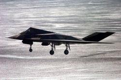 F-117 Blackhawk - In for a landing Photo