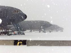 KC-10 Extenders - Snow daze Photo
