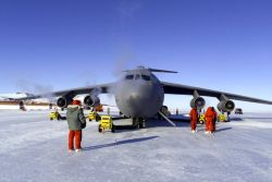 C-141C Starlifter - Reservists support Antarctic mission Photo