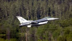 F-16C Fighting Falcon - Coping with thunder Photo