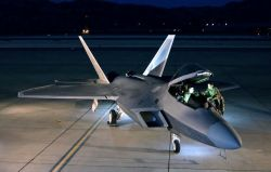 F/A-22 Raptor - Nocturnal Raptor Photo
