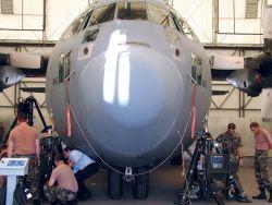 C-130 Hercules - Testing universal aircraft jacks Photo