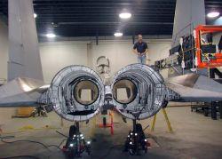 F-15 Eagle - Plane X-ray Photo