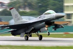 F-16 - U.S., Singaporean Airmen train together Photo