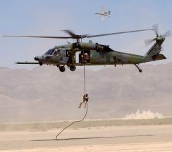 HH-60G Pave Hawk - Downed on the range Photo