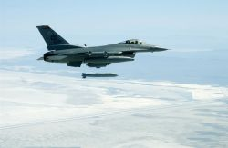 F-16C - Bombs away Photo