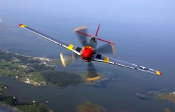P-51 Mustang - Air power demonstration Photo