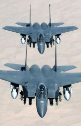 F-15E Strike Eagles - Fly like an eagle Photo
