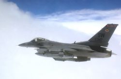 F-16 - Routine Mission Photo
