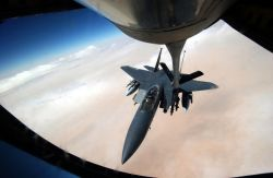 F-15E Strike Eagle - Fueling up an Eagle Photo