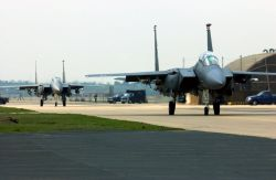 F-15E Strike Eagles - Two strike out Photo