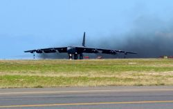 B-52 Stratofortress - B-52 in the sun Photo