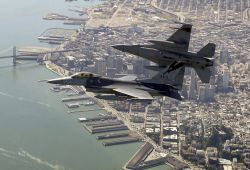 F-16 Fighting Falcons - Noble Eagle Photo