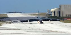 B-52 - Minot B-52 ground crews deployed at Guam Photo