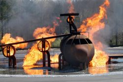 ROBINS AIR FORCE BASE - Fire pit Photo
