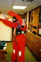 M/V Tiglax survival suit training Photo