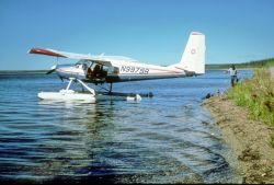 Floatplane N99798 on Graphite Lake Photo