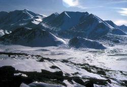 Mountain at Peters Lake Photo
