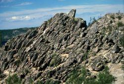 Basalt Rock Formation Near Bettles Photo