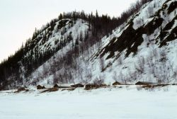 Village of Hughes Along the Koyukuk River Photo