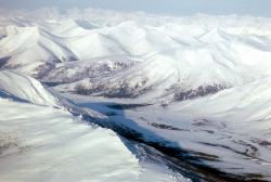 Noatak River - Aerial View Photo