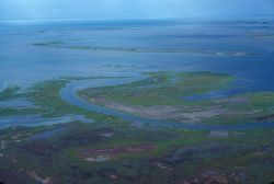 Noatak River Delta - Aerial View in Summer Photo