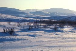 Noatak River in Winter Photo