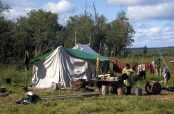 Koyukuk River Fish Camp Photo