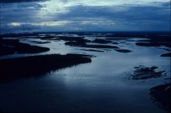 Yukon River in low light Photo