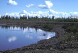 Kayaking on the Black River Photo