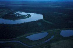 Innoko Refuge Meandering River Photo
