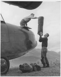 Loading FWS Grumman Goose With Camp Gear Photo