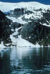 Glacier at Long Lake Photo