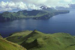 Uliaga Island, seen from Kagamil Island, 1987 Photo