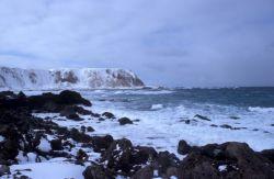 Shemya island Cable Bowl N shore Photo