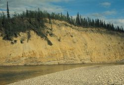 Lower Coleen River Bluffs Photo