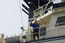 MV Tiglax Captain Kevin Bell Photo