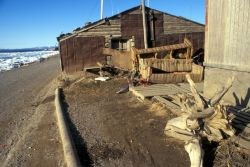 Kotzebue Waterfront Buildings Photo