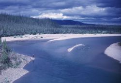 Boulder Point on the Coleen River Photo
