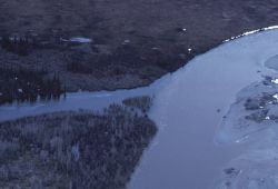 Coleen River Aerial View Photo